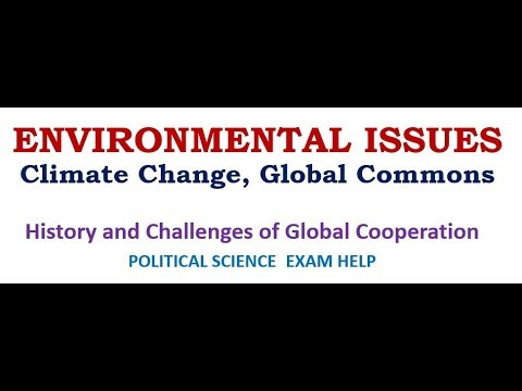 GLOBAL ENVIRONMENTAL ISSUE: