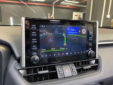 Навигация Toyota RAV4 2019 и 2020 (Android)