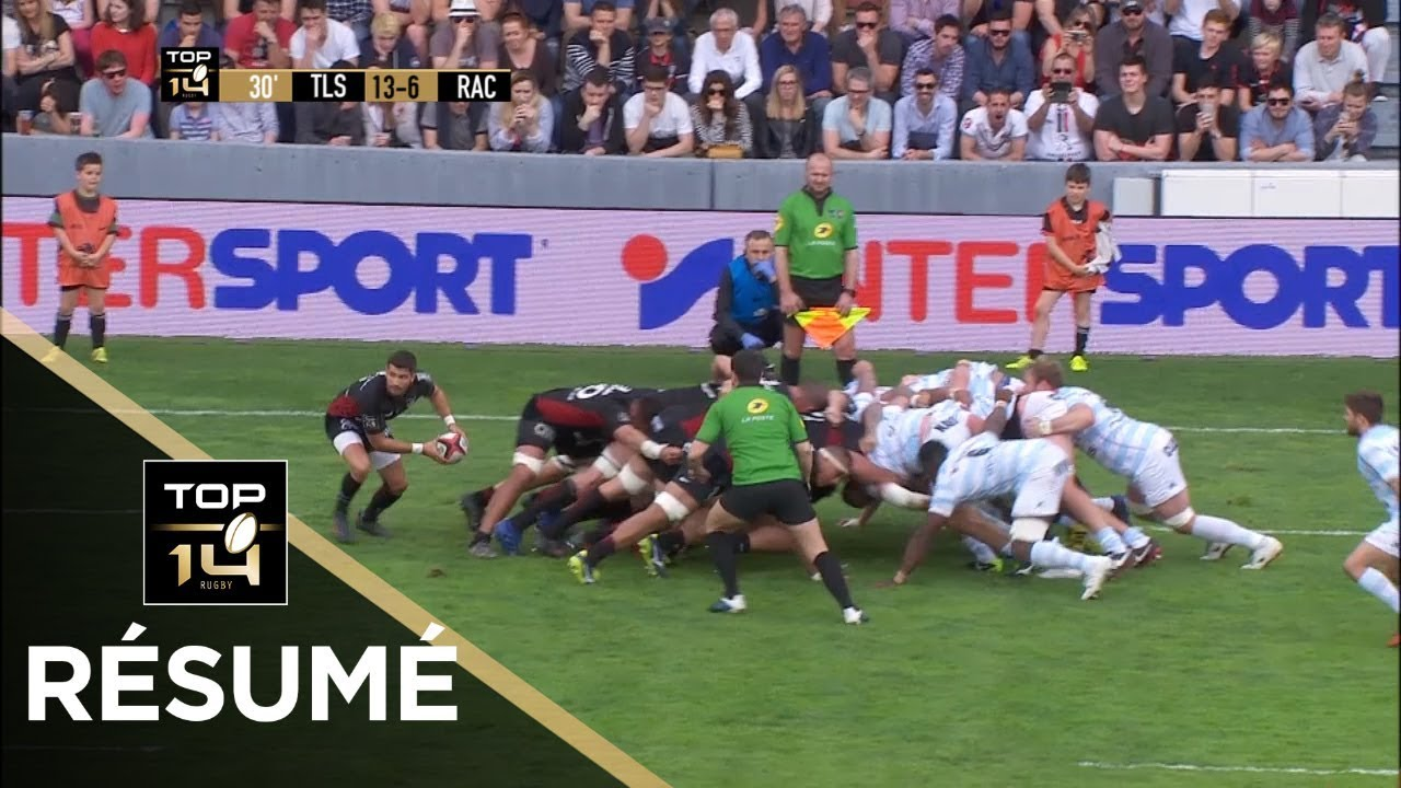 top 14 - r u00e9sum u00e9 toulouse-racing 92  42-27 - j24