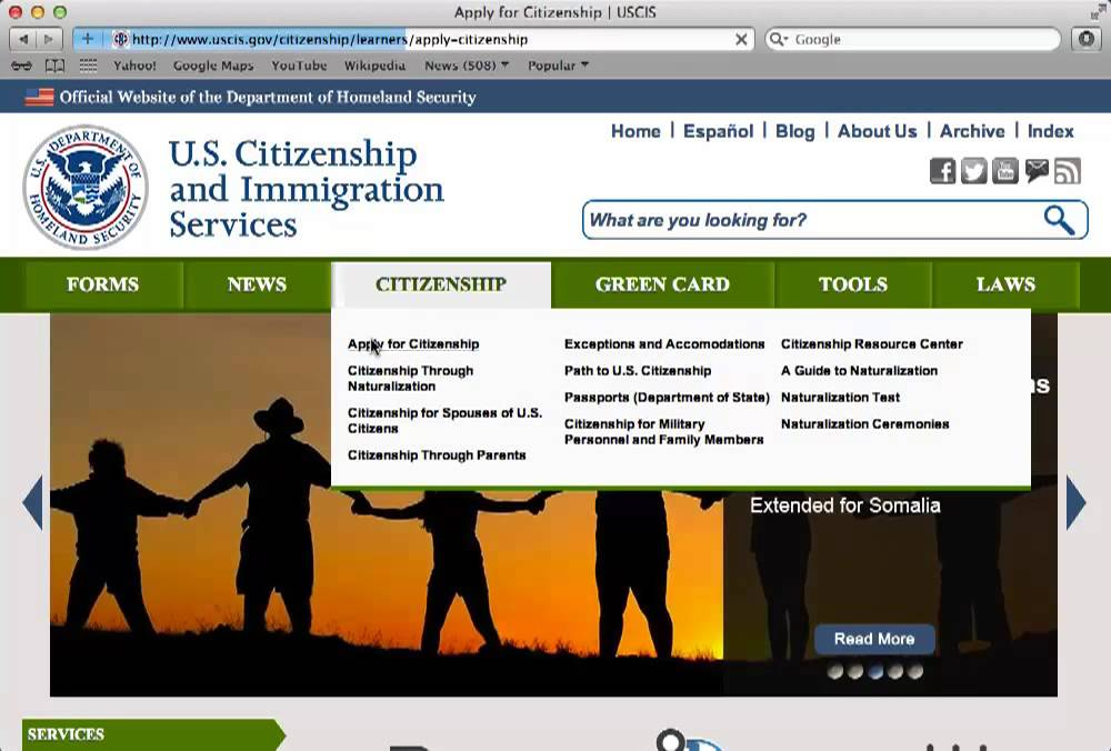 How To Download The N 400 Application For Naturalization Form Youtube