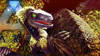 ARK Survival Evolved - NEW REALISTIC FEATHERED RAPTOR LATCHES ONTO PREY! - Gameplay