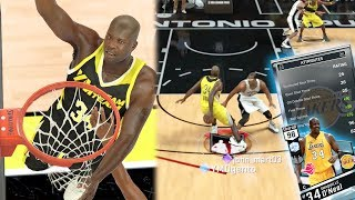 WOW! INSANE 98 OVR SHAQ NASTY CROSSOVER! WTF? Gold Ankle Breaker + Sick Ball Handle! NBA 2k17 MyTEAM