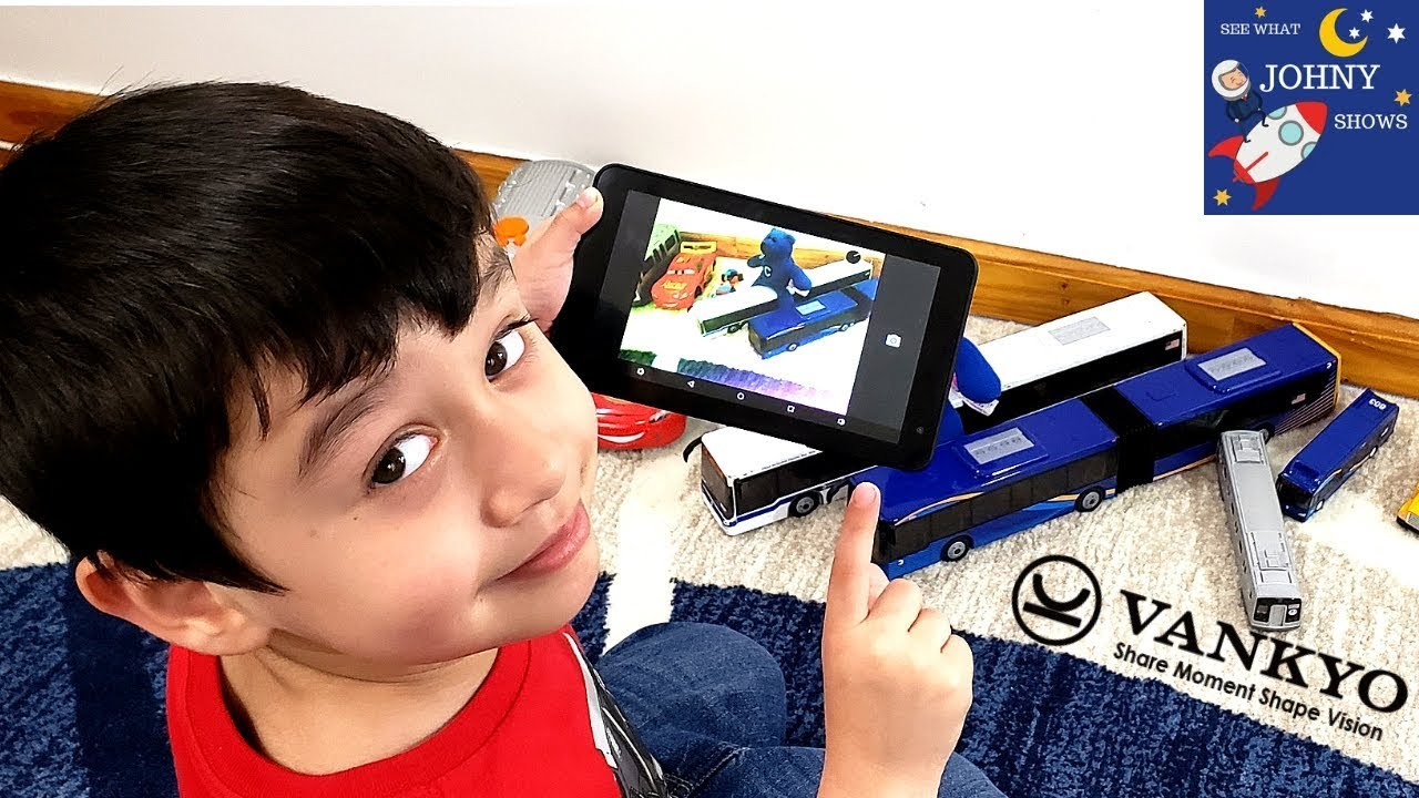 Johny Plays Roblox Train Games While Testing Out A Kids Tablet