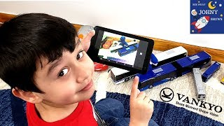 Johny Plays Roblox & Train Games While Testing Out A Kids Tablet