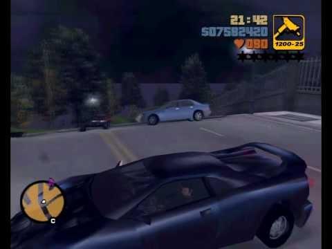 "GTA 3 - Мод ""Туннель до Города Призрака""!"