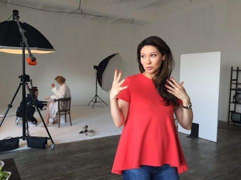 Одежда для беременных: советы по стилю от Марины Ким. Влог со съёмок для журнала Glamour