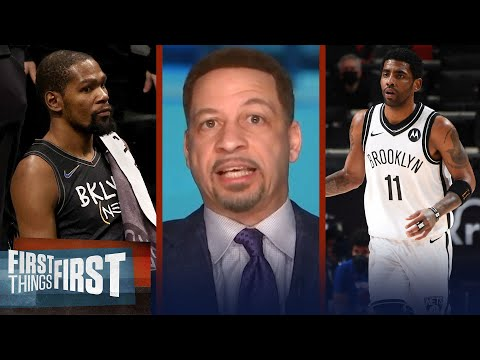 Kyrie's reasoning for Nets struggles is valid; talks defense — Broussard   NBA   FIRST THINGS FIRST