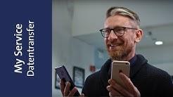 Wer bringt meine Daten vom alten aufs neue Handy? Swisscom My Service.