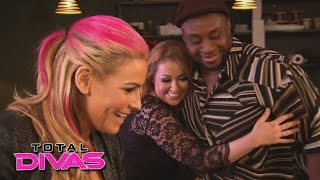 Natalya brings Jenni on a double date with Tyson Kidd and Big E: Total Divas: September 1, 2015