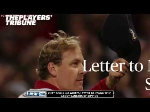 Curt Schilling Writes Powerful Letter To Younger Self About Dangers Of Dipping