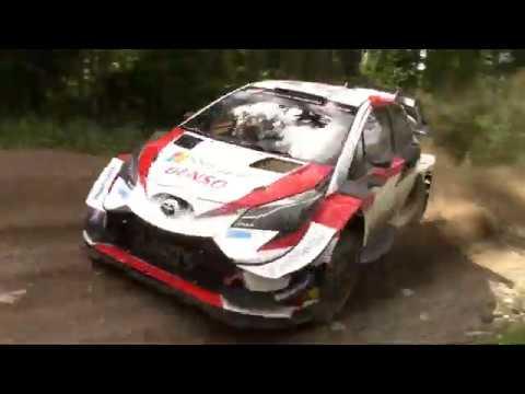 Elfyn Evans Toyota Yaris wrc fake live edition.