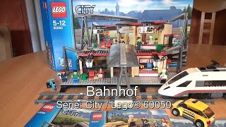 Test LEGO Bahnhof (City Set 60050)