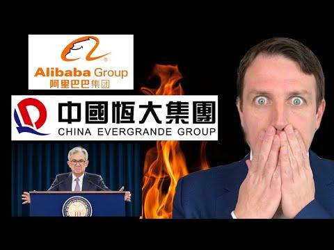 Stock Market News | FED + Impact of Evergrande, Systemic Risk, China on Alibaba