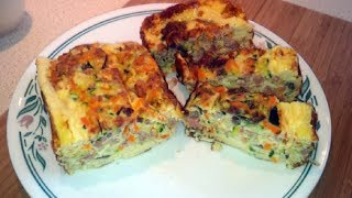 Zucchini And Carrot Egg Loaf (dr Poon Friendly / Low Carb / Primal)