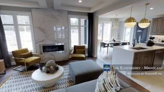 Elderberry Show Home at Minto Mahogany
