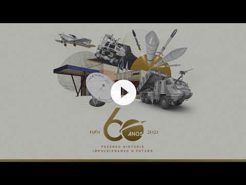 Vídeo Documentário Avibras 60 anos - Fazendo história, impulsionando o futuro