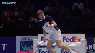 Best Shots and Rallies: Nitto ATP Finals 2018 Day 6