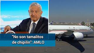 ¿Qué dijo AMLO del avión presidencial y cuáles son sus opciones de venta?