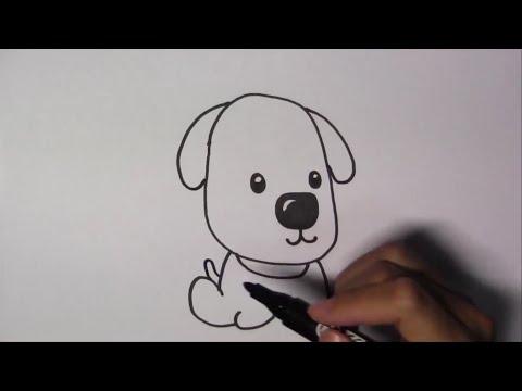 วาดรูปการ์ตูนน่ารัก ระบายสี และเรียนรู้ภาษาอังกฤษ Dog หมา