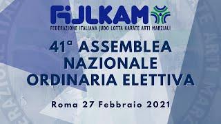 41ª Assemblea Nazionale Ordinaria Elettiva Fijlkam