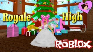 Roblox Royale High Ice Princess - Christmas Update! Winter Dance