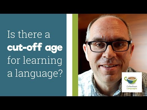 Is there a cut-off age for learning a language?