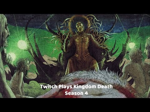 Twitch Plays Kingdom Death: People of the Stars - S4 - Year 10 (Sunstalker) & 11 (White Lion)