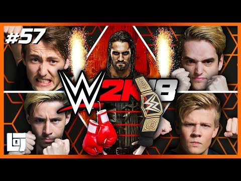 WWE2k18 met Jeremy, Don, Link en Harm | Lets Play | LOGS2 #57