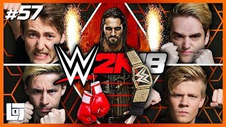 WWE2k18 met Jeremy, Don, Link en Harm | Let's Play | LOGS2 #57