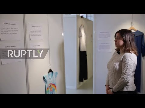 Belgium: Brussels exhibits rape survivors' outfits to tackle victim blaming