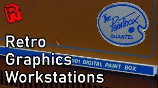 How Did they make TV Graphics in the 80's & 90's?  Meet the Quantel Paintbox | Retro Road Trip