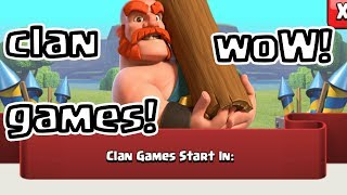 Clash of Clans CLAN GAMES! LIVE! LET plAY