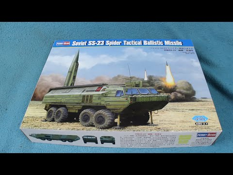 Hobby Boss SS-23 Spider Tactical Ballistic Missile In-Box Review