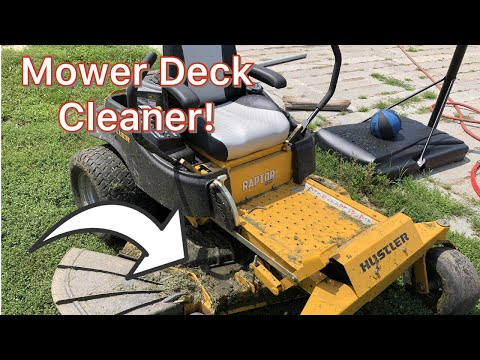 Mower Deck Cleaning