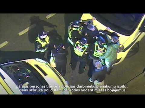 Rīgas pašvaldības policija aiztur četras personas