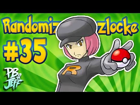 MORE ROCKET GOONS - Pokemon Leaf Green RANDOMIZER NUZLOCKE! (Part 35)