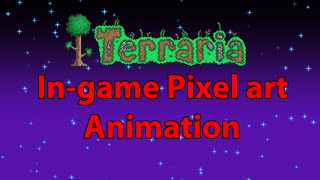 Terraria in-game Pixel Art Animation