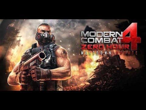 Gameplay Modern Combat 4 Zero Hour Android Ram 1GB