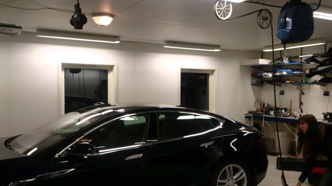 the recommended home charging installation for tesla