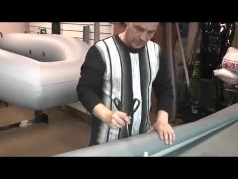 Быстрый ремонт ПВХ лодки