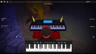 Gas Gas Gas - Initial D by: MANUEL on a ROBLOX piano.