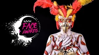 NYX FACE AWARDS COLOMBIA 2017  ENTRADA (DIOSA FENIX)