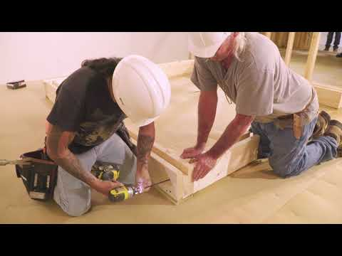 Constructing a Wood Tornado Shelter (2 of 6)