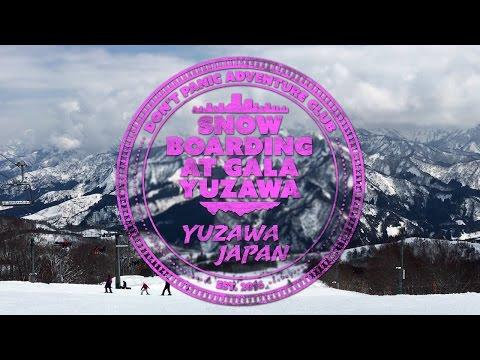 Snowboarding at GALA Yuzawa (Yuzawa, Japan)