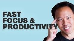 Kwik Brain Episode 18: Fast Focus & Productivity with Julia Roy