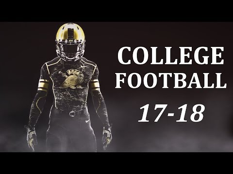 """College Football Pump Up 2017-18 - """"In The Name Of Love"""" ᴴᴰ"""