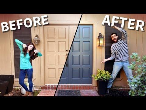 Front Door Weekend Makeover!