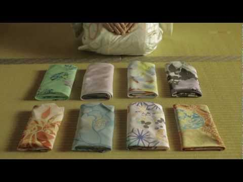 Water Repellent Furoshiki [How to use Japanese wrapping bag]