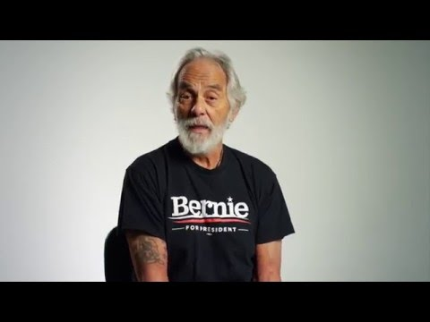 Tommy Chong Feels The Bern