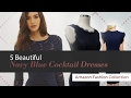5 Beautiful Navy Blue Cocktail Dresses Amazon Fashion Collection